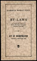 By-laws as revised and passed at a special meeting of delegates, February first, 1929 and Act of incorporation, assented to March 20th, 1929