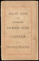 Allan line; illustrated tourists' guide to Canada and the United States