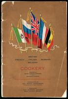 British, French, Italian, Russian, Belgian cookery / arranged by Grace Clergue Harrison and Gertrude Clergue ; to aid the war sufferers in the devastated districts of France ; introduction by Raoul Dandurand ... ; preface by Stephen Leacock