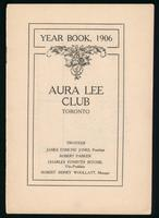 Year book, 1906 / Aura Lee Club, Toronto