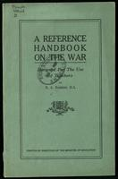 A reference handbook on the war, designed for the use of teachers