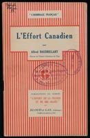 L'effort canadien