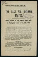 The case for Ireland stated