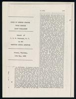 Speech of J.H.N. Bourassa on the Manitoba school question. Ottawa, Thursday, 12th May, 1898