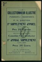 Illustrated Canadian coin collector, 1st annual supplement, June 1892