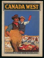 Canada West : Canada, the new homeland / issued by direction of James Alexander Robb, minister of Immigration and Colonzation