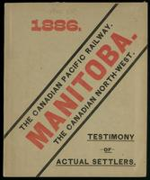 Manitoba, the Canadian North-West. Testimony of actual settlers