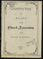 Constitution and rules ...