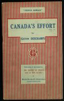Canada's effort / by Gaston Deschamps