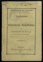 Excursion aux Provinces Maritimes