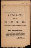 A few facts from the official records.  [1890]