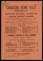 Canadian home rule herald
