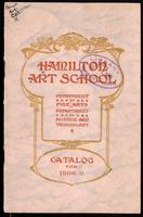 Catalog / Hamilton Art School, Department of Fine Arts, Department of Science and Technology