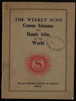 The Weekly sun's census almanac and handy atlas of the world