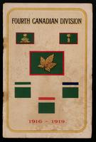 The story of the Fourth Canadian Division, 1916-1919 / [compiled by C.B. Lindsey].