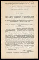 Letter from the Acting Secretary of the Treasury, transmitting, in response to a resolution of the House, a report of the Commissioner of Navigation relative to the use of the Welland Canal : July 24, 1888 : referred to the Committee on Foreign Affairs an