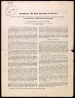 Changes in the fuel situation in Canada; between 1923 and 1928 the problem has changed from a consumer's to a producer's problem - how the producer's problem is being met in Canada