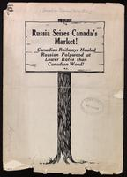 Russia seizes Canada's market. Canadian railways hauled Russian pulpwood at lower rates than Canadian wood.