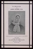 In memoriam : Laura Secord, 1813