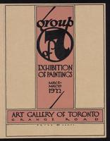Group of 7 : exhibition of paintings : May 5 - May 19, 1922 / Art Gallery of Toronto