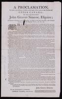 A proclamation, to such as are desirous to settle on the lands of the Crown in the province of Upper Canada