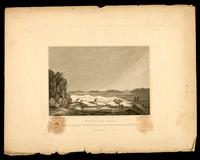 Moore's Bay, Polar Sea: lat. 67o.48 N. long. 110o.36 W. with the expedition under Captn. Franklin, R.N. 29th July, 1821. Midnight view