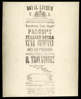 [Parodi's Italian opera star company in a performance of Il Trovatore, Friday, Aug. 5th '59]