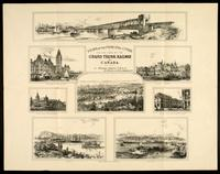 Views of the principal cities on the line of the Grand Trunk Railway of Canada / by William Abbott