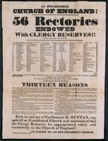 An established Church of England : 56 rectories endowed with clergy reserves!