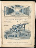 Canadian Printer & Publisher Vol. 1, No. 1
