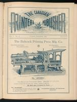 Canadian Printer & Publisher Vol. 1, No. 5