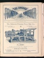 Canadian Printer & Publisher Vol. 1, No. 8