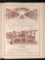 Canadian Printer & Publisher Vol. 2, No. 5