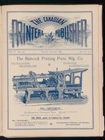 Canadian Printer & Publisher Vol. 2, No. 10