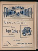 Canadian Printer & Publisher Vol. 3, No. 3