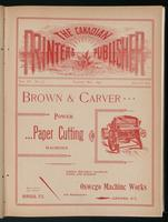 Canadian Printer & Publisher Vol. 3, No.5