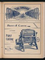 Canadian Printer & Publisher Vol. 3, No.8
