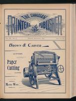Canadian Printer & Publisher Vol. 3, No.9