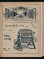 Canadian Printer & Publisher Vol. 3, No. 10