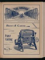 Canadian Printer & Publisher Vol. 3, No.11