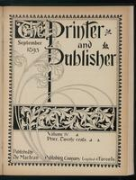 Canadian Printer & Publisher Vol. 4, No.9