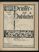 Canadian Printer & Publisher Vol. 4, No.10