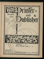 Canadian Printer & Publisher Vol. 4, No.11