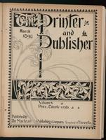 Canadian Printer & Publisher Vol. 5, No. 3