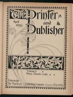 Canadian Printer & Publisher Vol. 5, No. 4