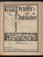 Canadian Printer & Publisher Vol. 5, No. 6