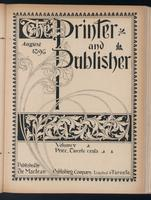 Canadian Printer & Publisher Vol. 5, No. 8