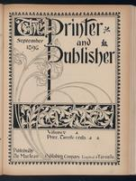 Canadian Printer & Publisher Vol. 5, No. 9