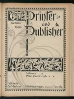Canadian Printer & Publisher Vol. 5, No. 10