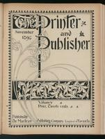 Canadian Printer & Publisher Vol. 5, No. 11